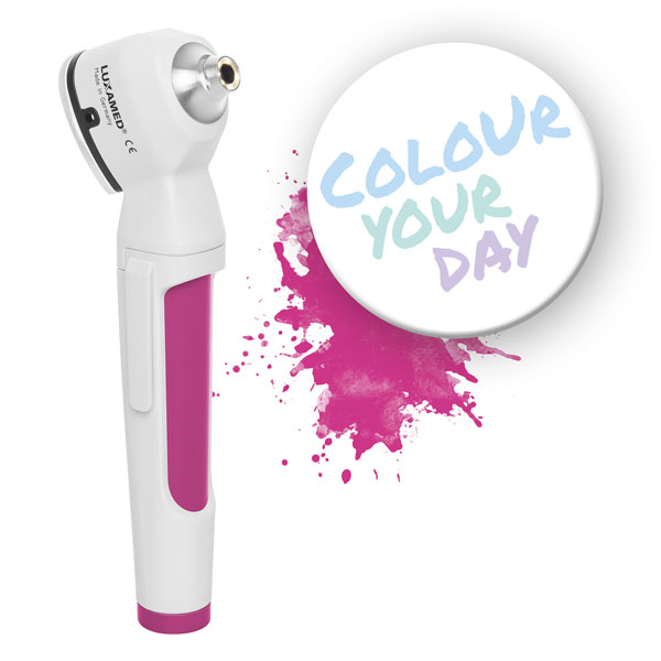 LuxaScope Auris colour magenta